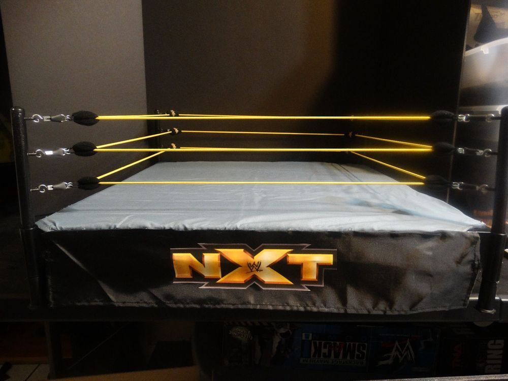 5eadfd640cb2 WWE Custom NXT Scale Wrestling Ring Flashback Legends Mattel Elite  Backstage in Toys & Hobbies, Action Figures, Sports | eBay