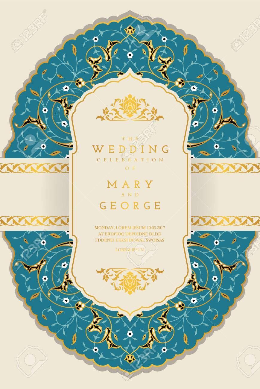 Vintage Wedding Invitation Card Template Sponsored Wedding Wedding Invitation Card Template Vintage Wedding Invitation Cards Vintage Wedding Invitations