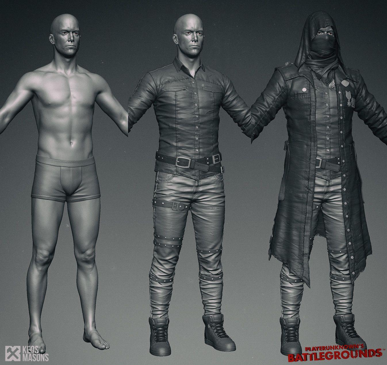 ArtStation - PlayerUnknown\'s Battlegrounds, Keos masons Cedric Seaut ...