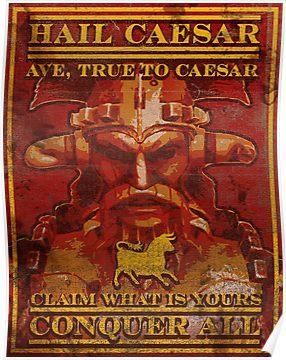 Join Caesar S Legion Poster By Jenkem69 Fallout New Vegas Fallout Posters Fallout Art