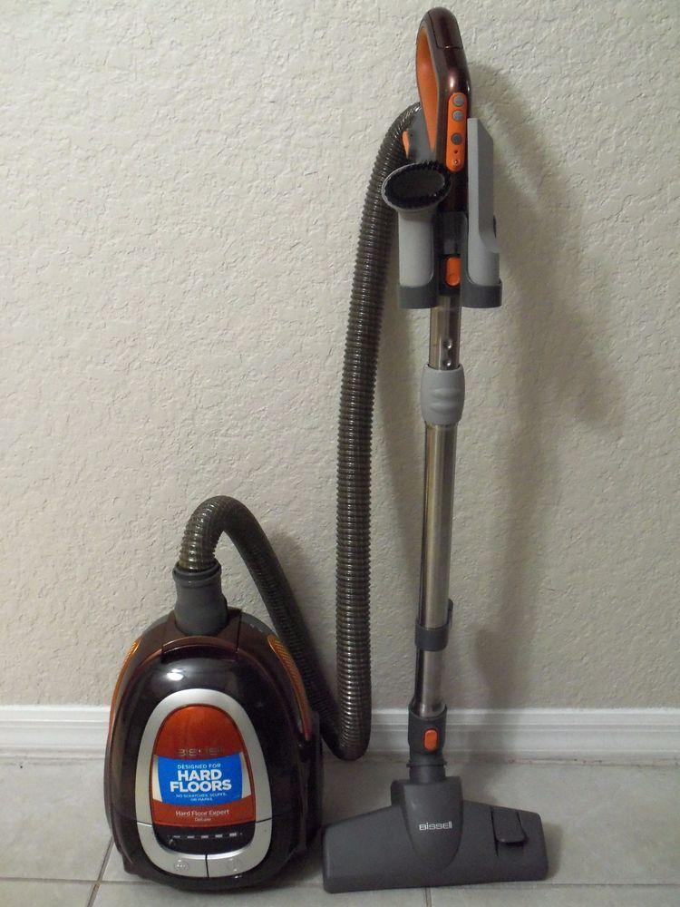 bissell 1161 hard floor expert deluxe canister vacum cleaner