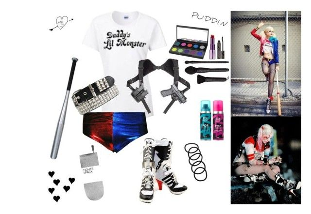 """""""Margot Robbie's Harley Quinn!!"""" by jeanine-griswold ❤ liked on Polyvore"""