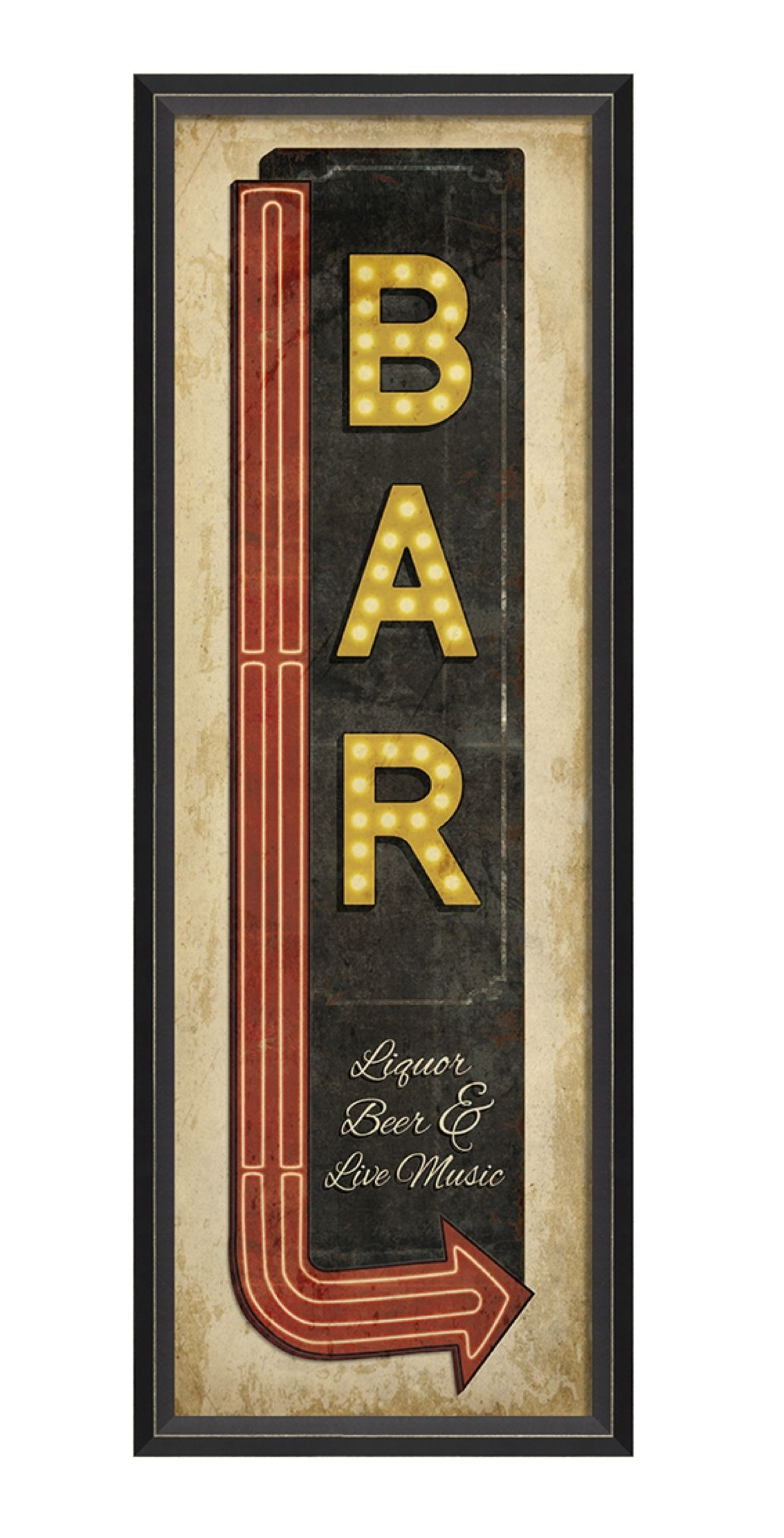 Vintage bar sign in 2018 | Old looking signs | Pinterest | Vintage ...