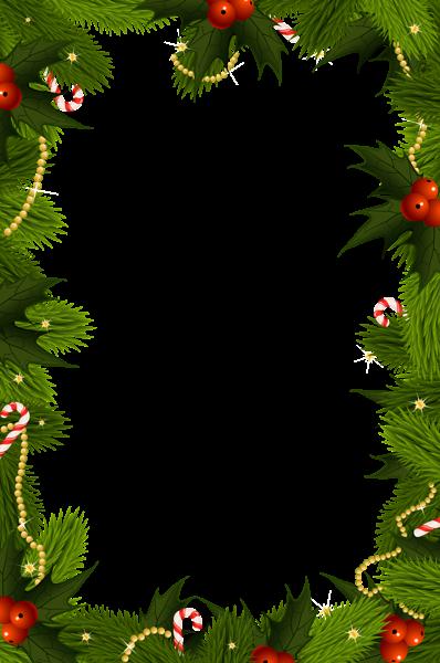 Transparent Christmas PNG Border Frame | Boże narodzenie ...