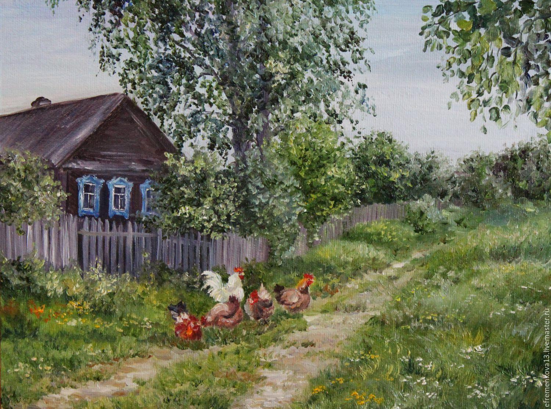 картинки мой двор в деревне кафе