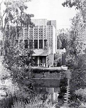 Millard House lost l.a.: frank lloyd wright's alice millard house could be