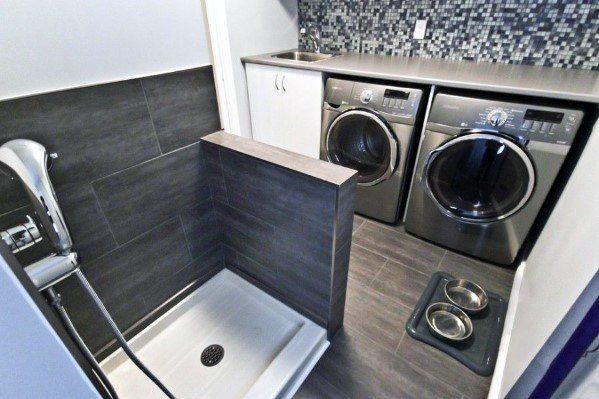 Top 60 Best Home Dog Wash Station Ideas - Canine Shower Designs images