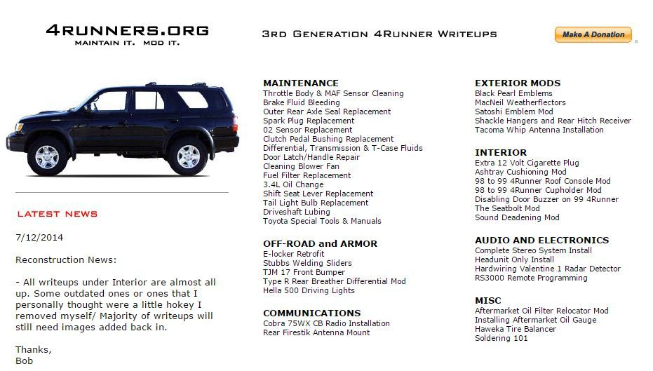 3rd Gen Faq Tutorials Documentation Reference V2 Toyota 4runner Forum Largest 4runner Forum Toyota 4runner Toyota Brake Fluid
