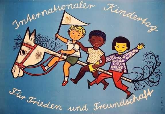 in der ddr wurde der kindertag im jahre 1950 eingeführt