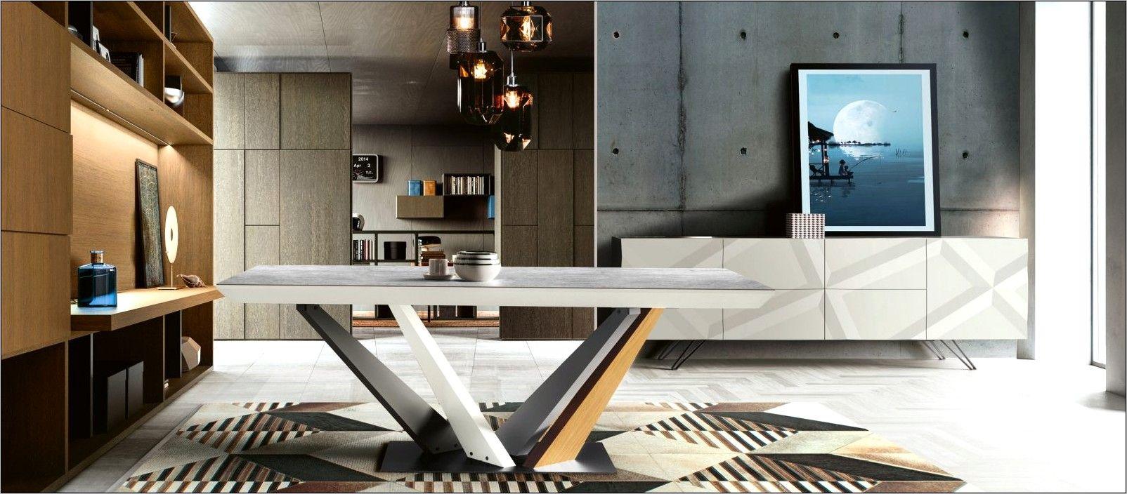 manger moderne table ronde mobilier
