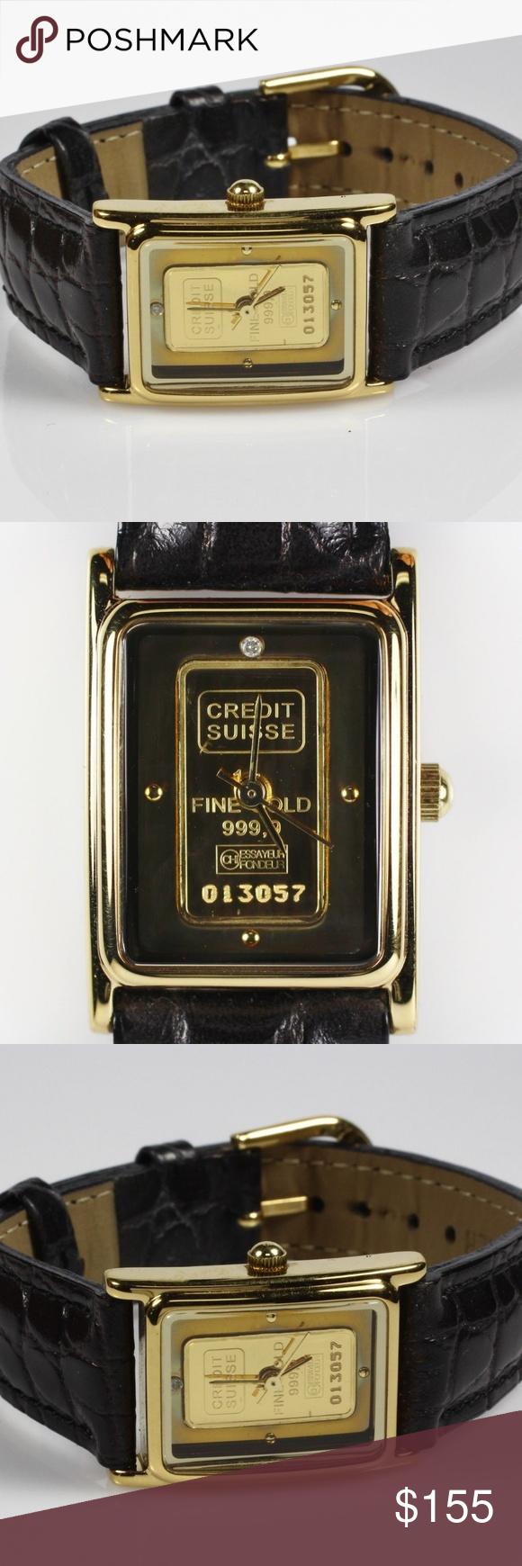 Jules Jurgensen Watch Credit Suisse 1 Gram Gold Jules Jurgensen Vintage Watches Jules
