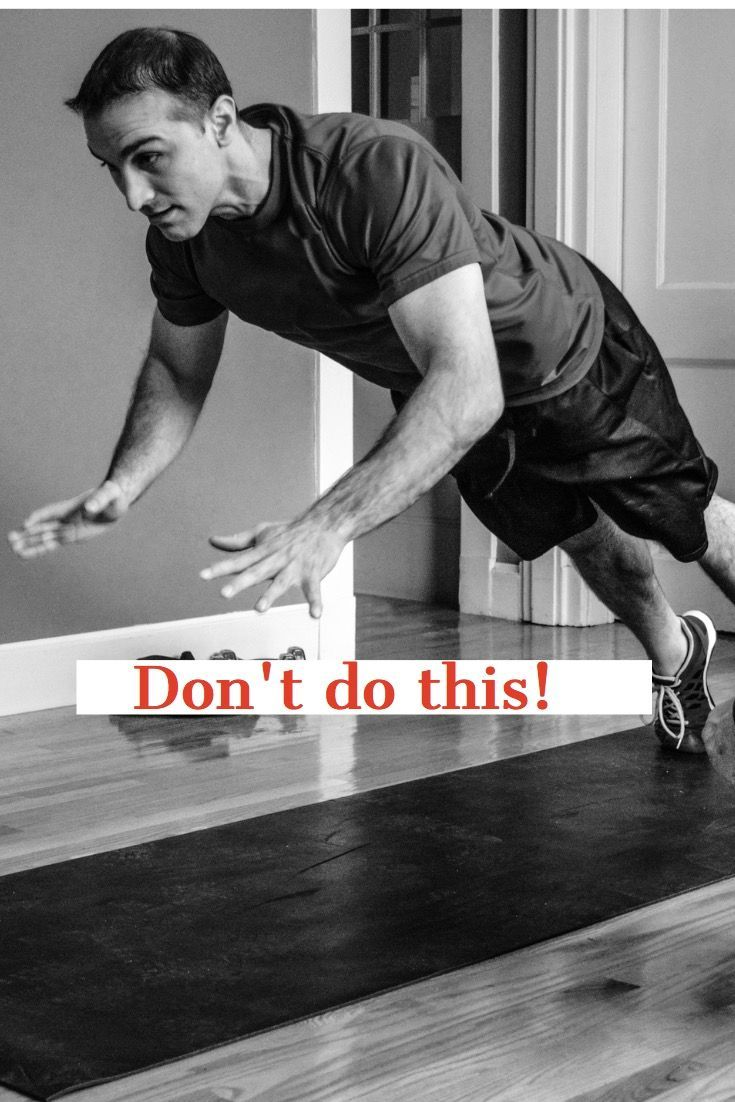 Avoid injuries. Skip the fads and risky moves. We use full