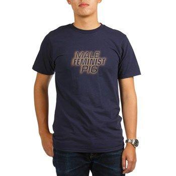 Male Feminist Pig T-Shirt