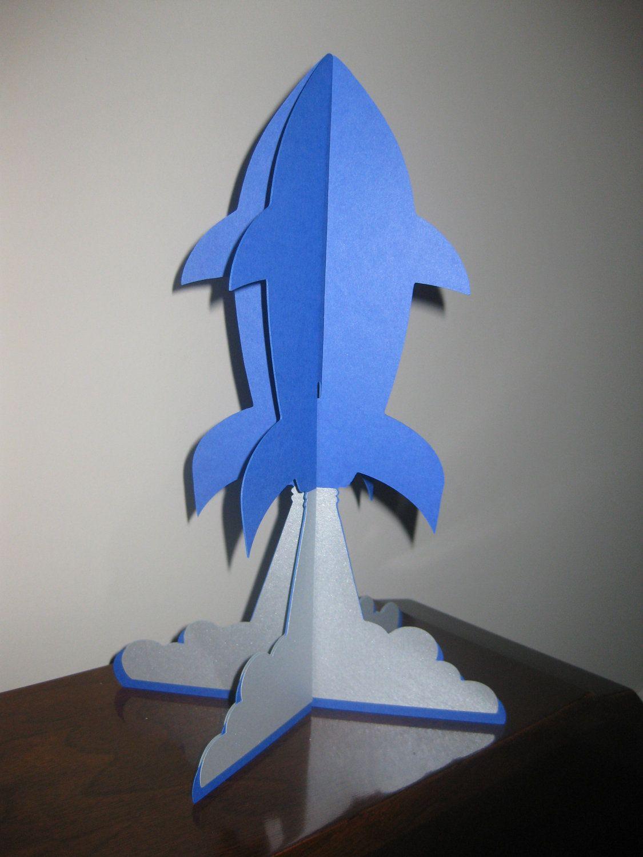 Rocket Ship Centerpiece Decoration 8
