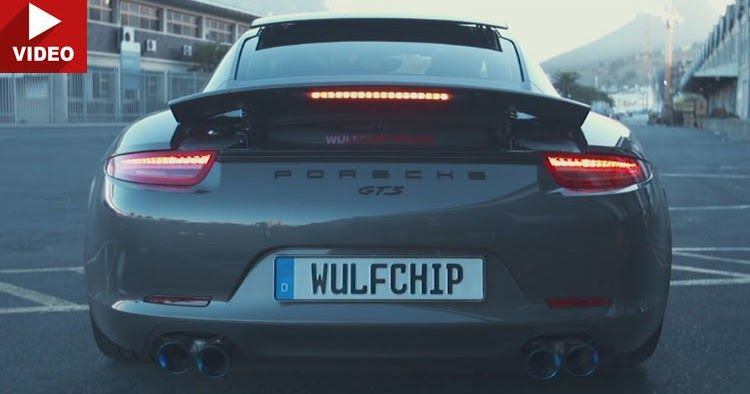 Porsche 911 Carrera GTS Gets Glorious Soundtrack By Armytrix #Armytrix #Porsche