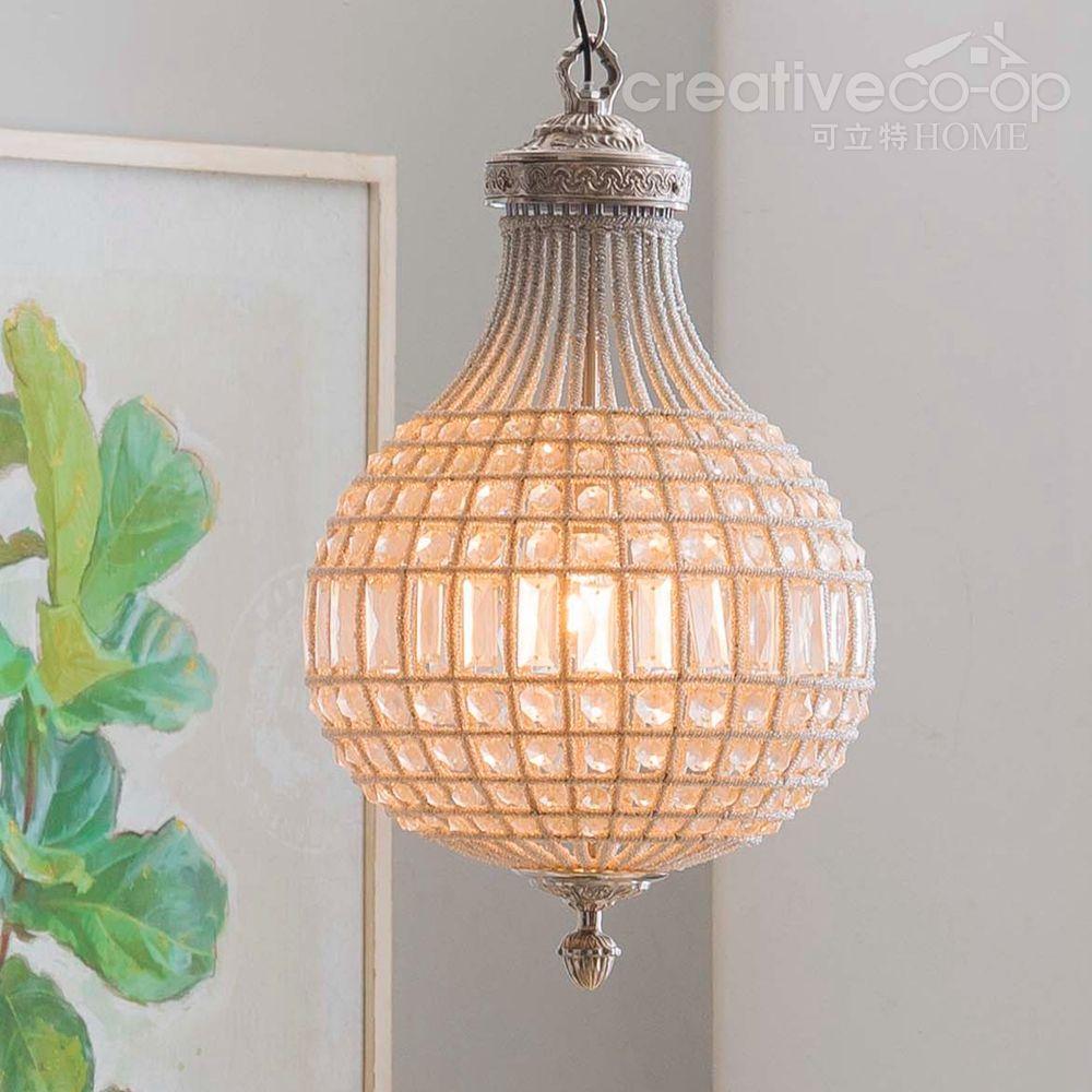 Hand cut glass regency chandelier creative co op home lighting hand cut glass regency chandelier creative co op home aloadofball Choice Image