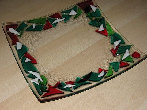 Fused Glass Christmas Google Search Glass Projects To Try