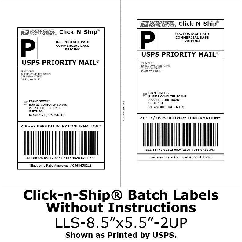 Free Printable Shipping Label Template Why Can T I Tape Over The Barcode On My Usps Shipping L Label Templates Printable Label Templates Address Label Template