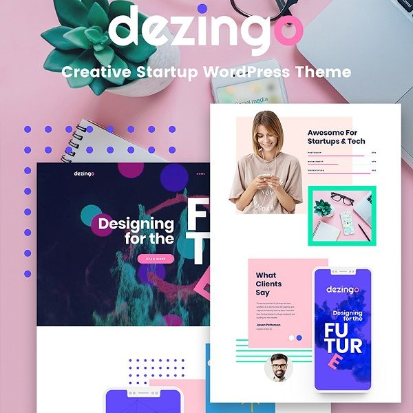 Conquer the Banality Using These 20 Personal Website Templates! 4