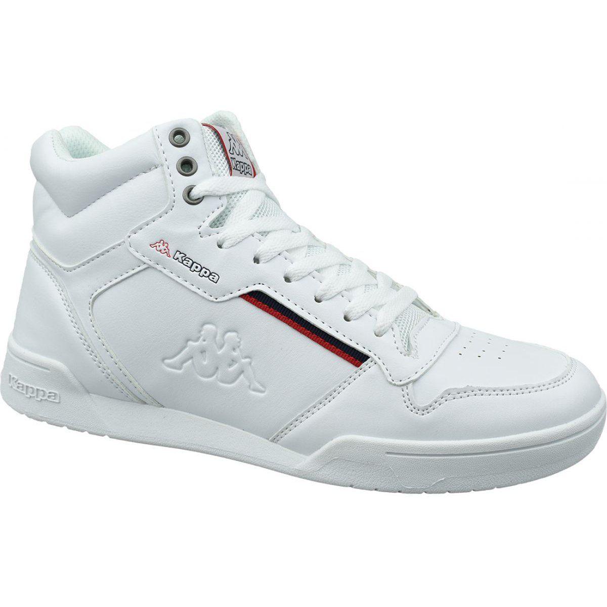 Buty Kappa Mangan M 242764 1020 Biale Shoes Shoes Mens Athletic Shoes