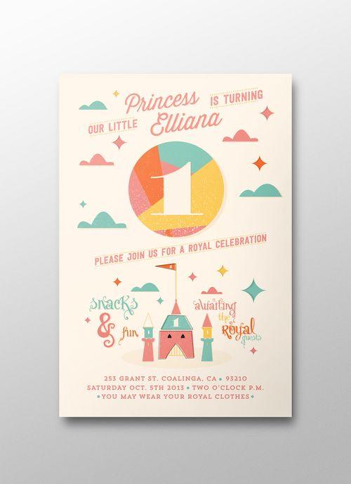 Childrens birthday invitation graphic design pinterest childrens birthday invitation graphic design stopboris Gallery