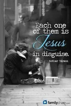 Image result for jesus in disguise