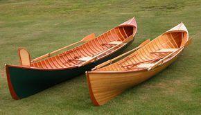 virginia guideboat wood building reproduction strip Adirondack