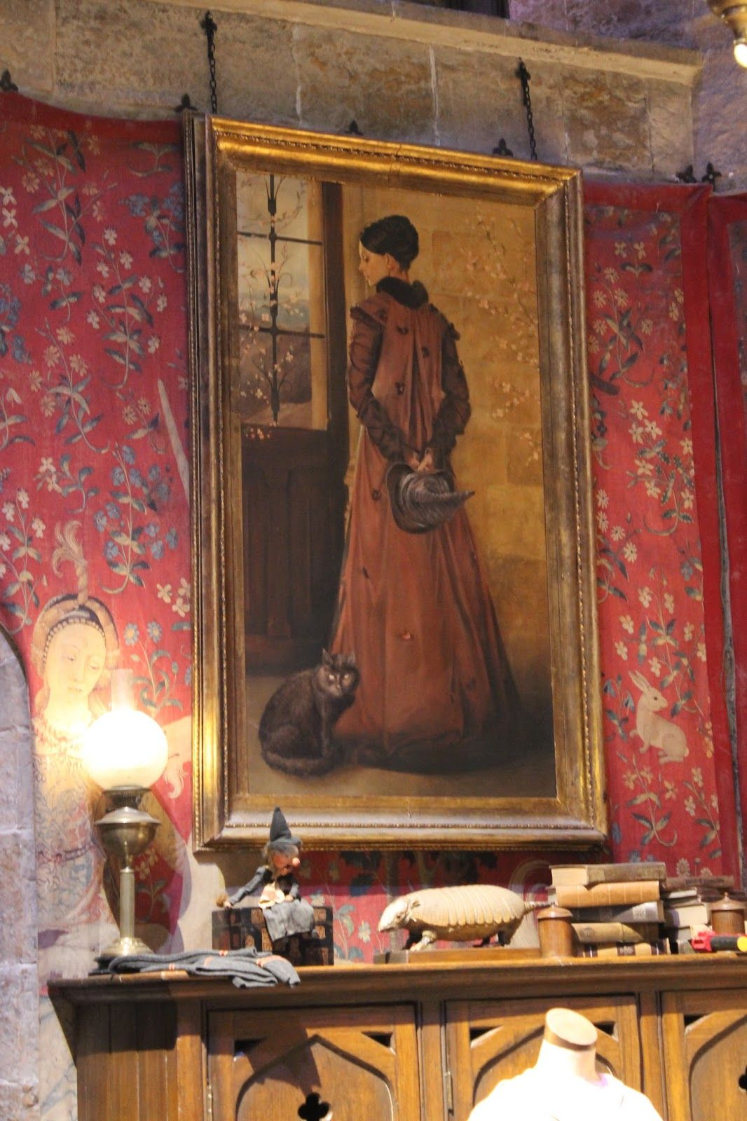 Portrait Of Young Minerva Mcgonagall Hanging In The