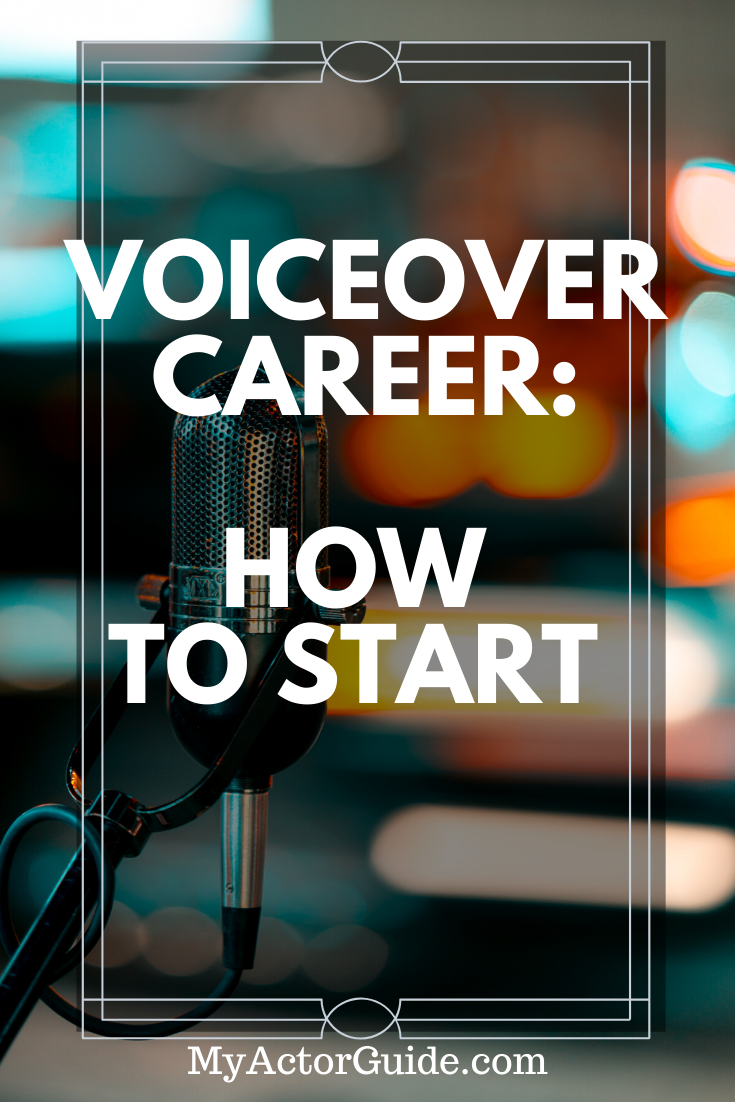 How To Start A Career in Voice Over