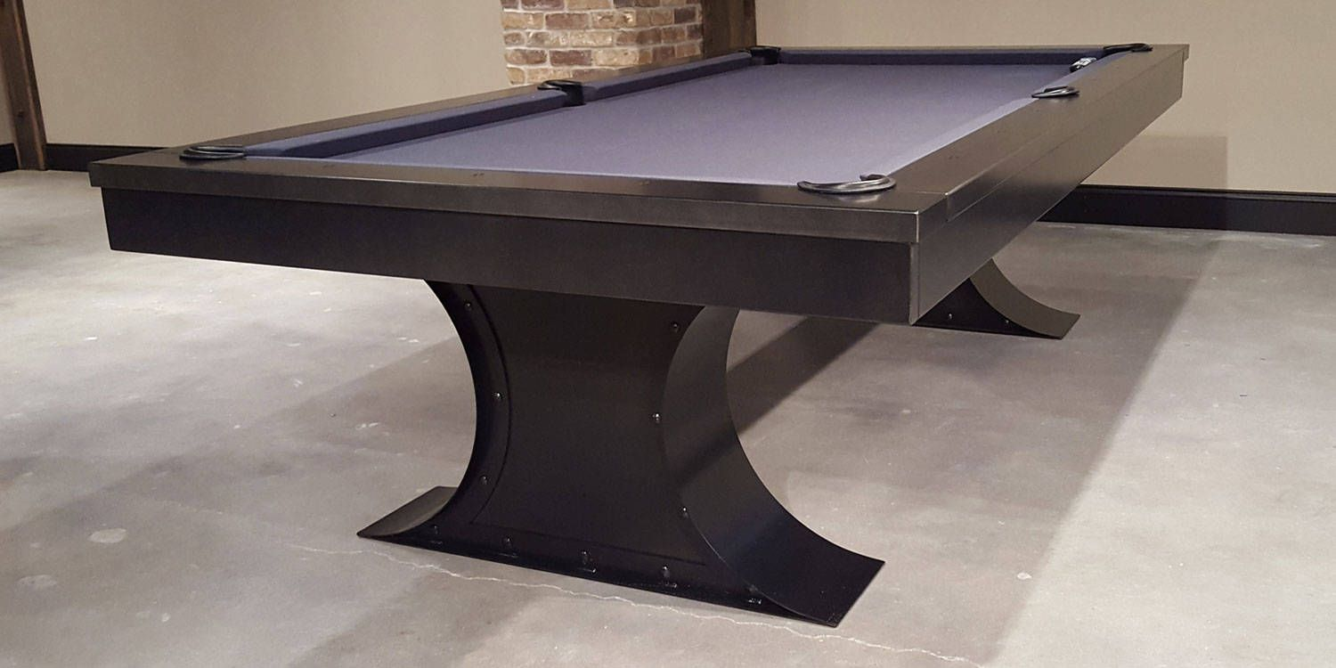 Industrial Steel Pool Table Gift For HimIndustrial Furniture - Restoration hardware pool table