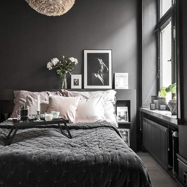 Zou jij het aandurven, alle muren in je slaapkamer zwart verven ...