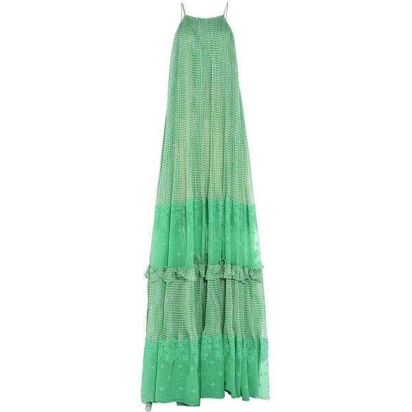 Joy Dress (€4.125) ❤ liked on Polyvore featuring dresses, green dress, stella mccartney and stella mccartney dresses