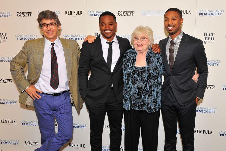 Alexander Payne, Ryan Coogler, June Squibb and Michael B. Jordan at the Film Society's 2013 Fall Celebration. Photo by Steve Jennings/WireImage.