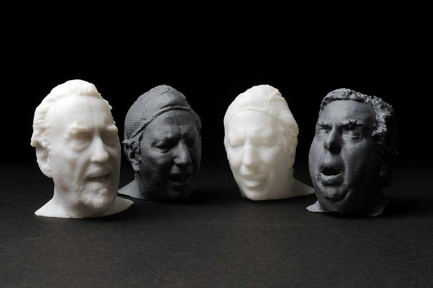 3d printed portrait Google Search Industrial 3d