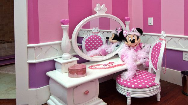 Super Cute For A Little Girl S Minnie Mouse Room Or