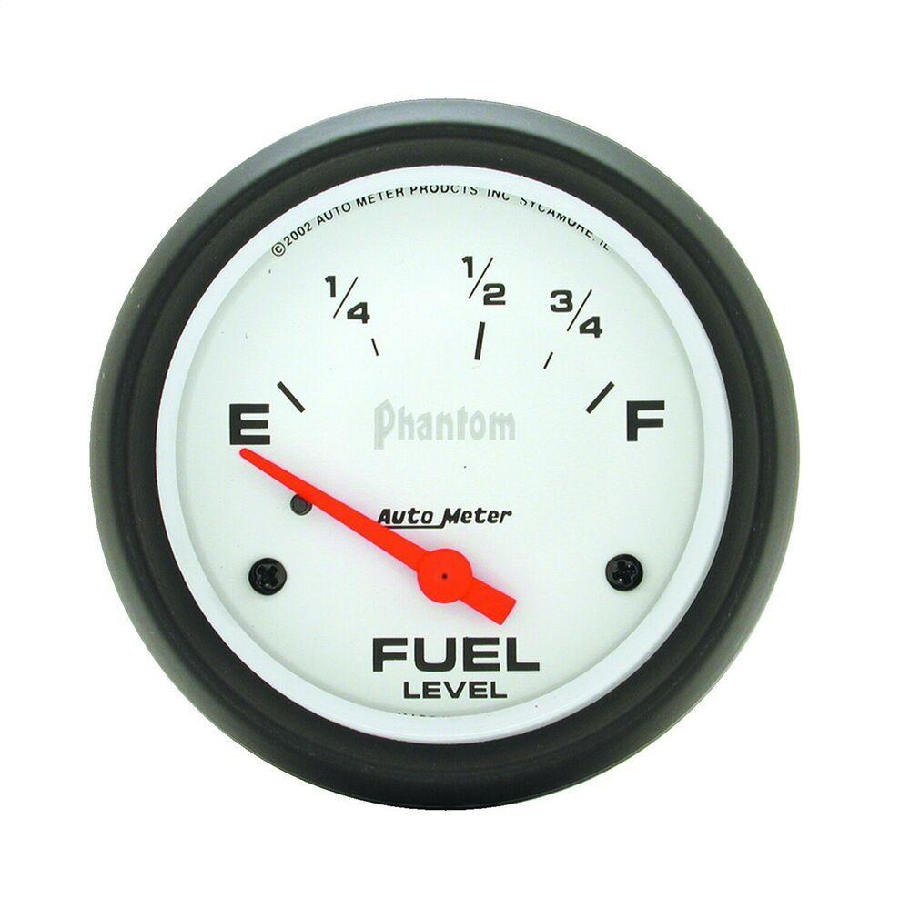 hight resolution of  sponsored ebay autometer 5815 phantom electric fuel level gauge