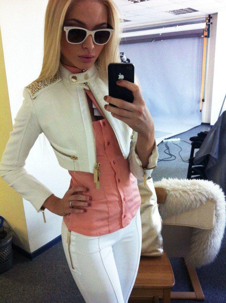 OMG that jacket!
