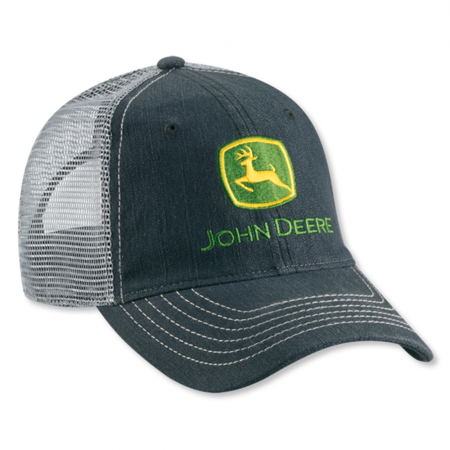 e1f23d4673e John Deer Denim Field Cap