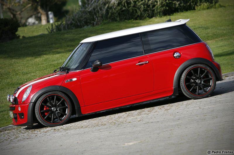 Mini Cooper S R56 Black Wheels Mini Love Red Mini Cooper