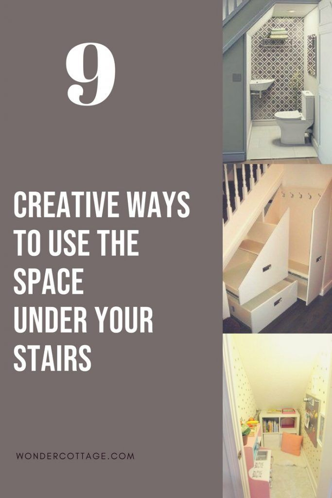 Best 9 Creative Ways To Use The Space Under Your Stairs In 2020 400 x 300