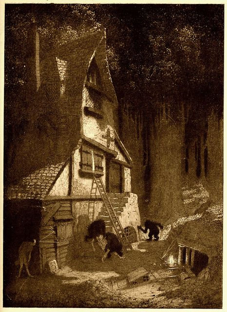 Sidney Sime - The Lean, High House Of The Gnoles (1912) by Aeron Alfrey, via Flickr