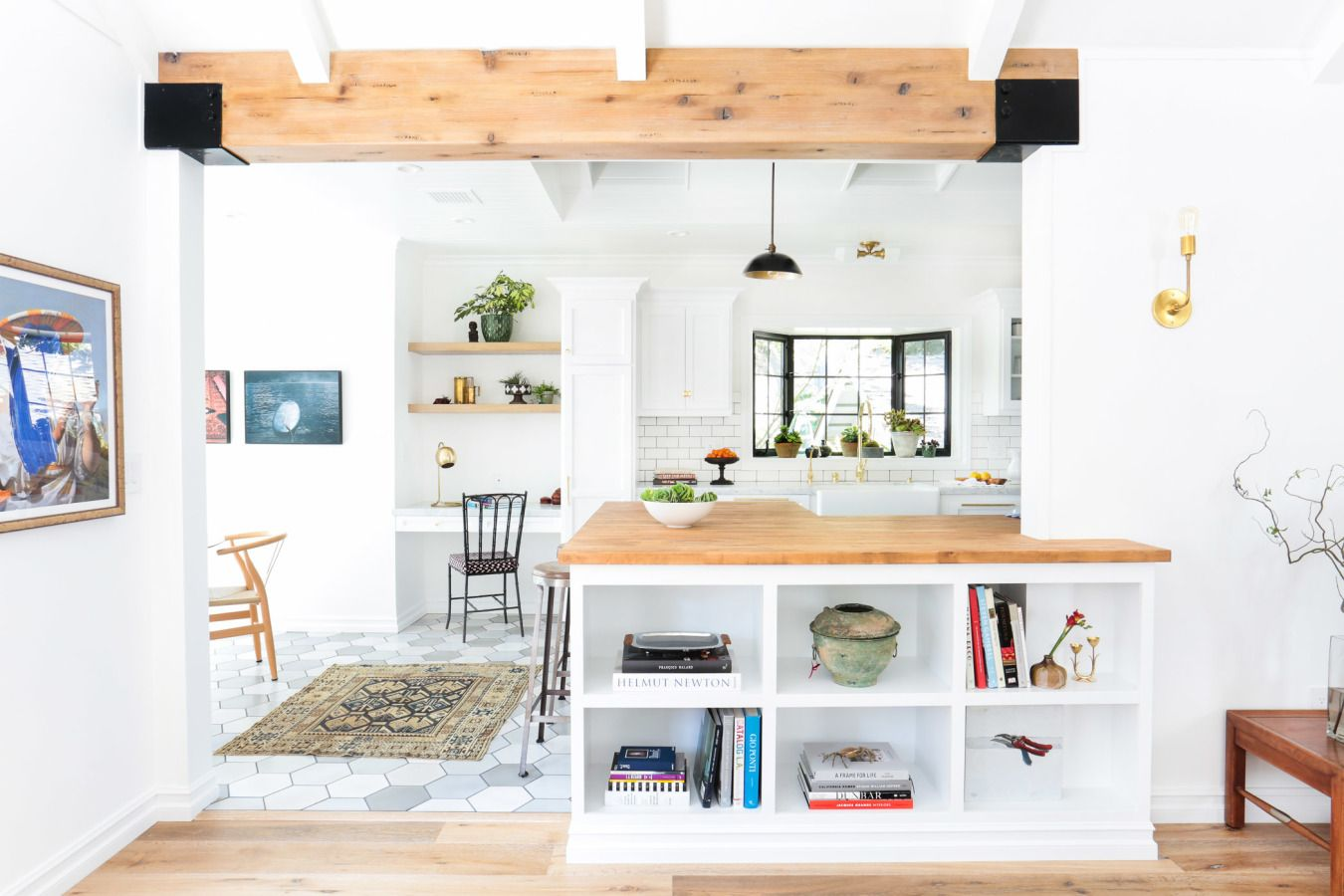 A Soup-to-Nuts Reno in Silver Lake   Ceilings, Schoolhouse electric ...