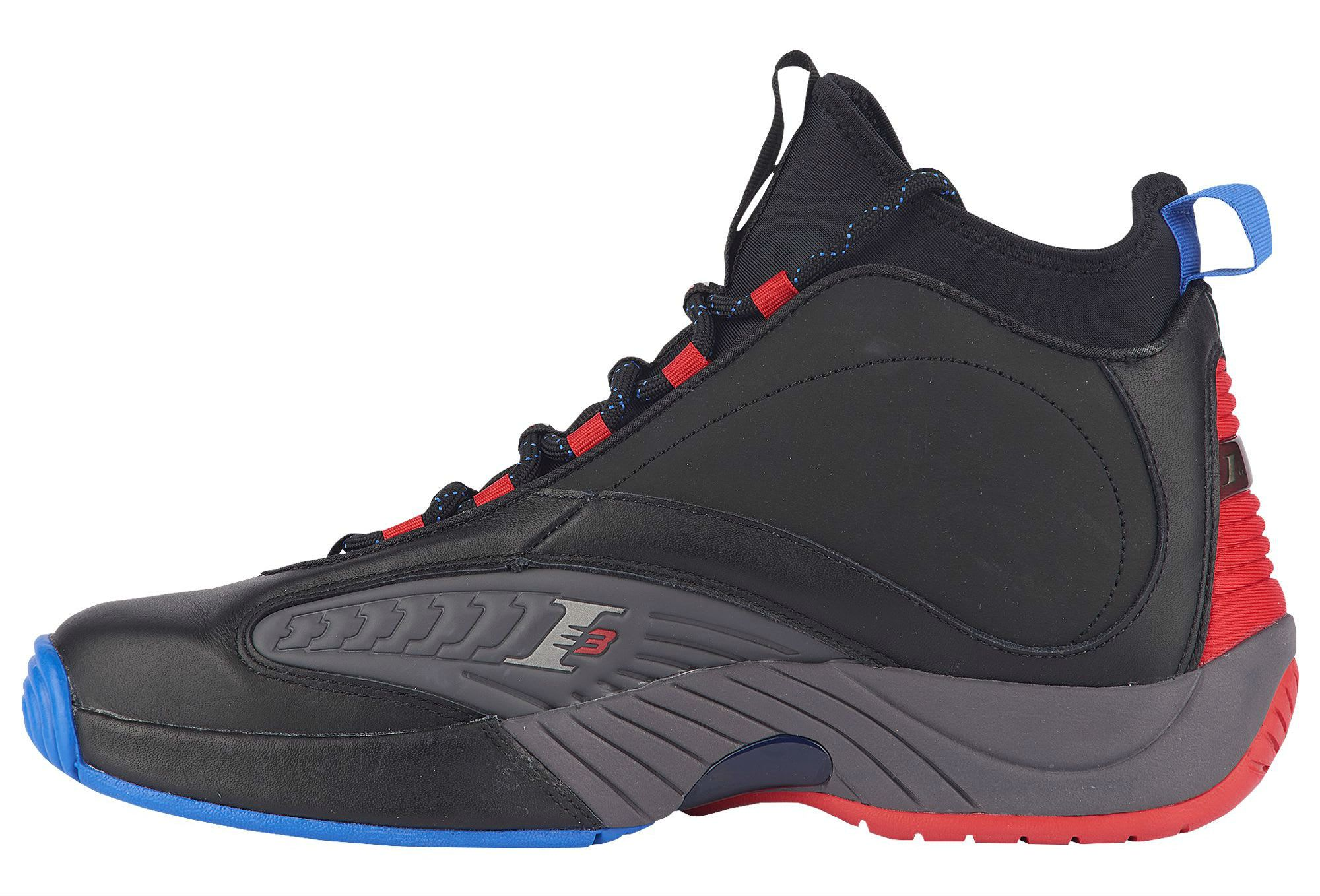82c74a0d3f55 Reebok Answer 4.5 Black Ash Grey Primal Red Vital Blue Release Date CN5841  Medial