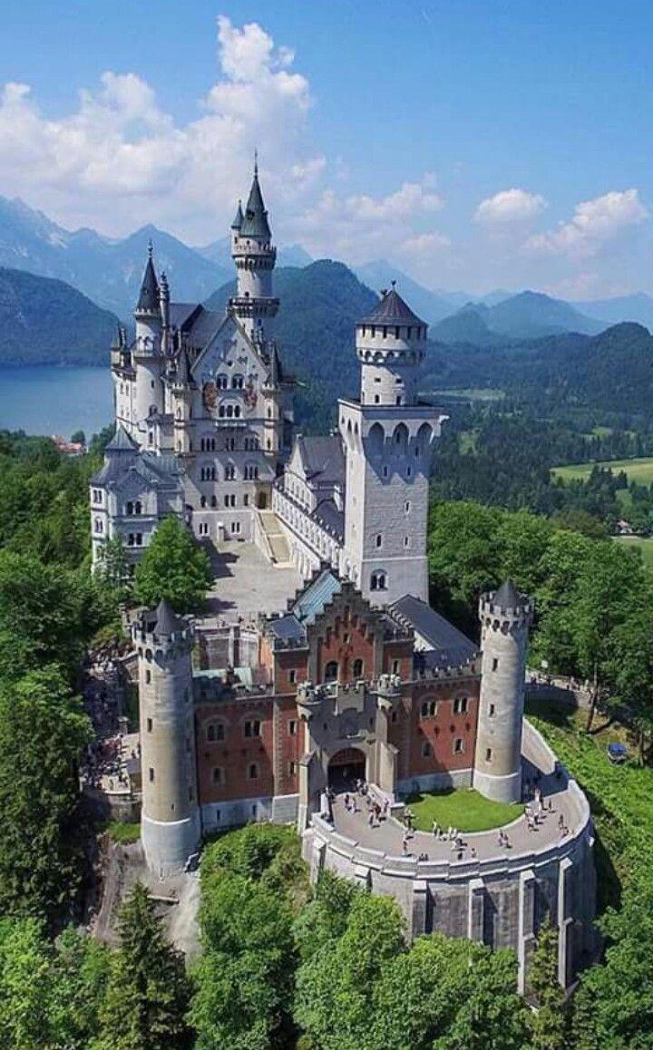Schwangau Bayern Schloss Neuschwanstein Schone Gebaude Schone Orte Landschaftsbilder