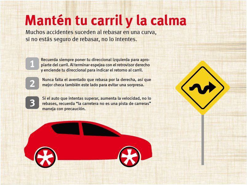 Les compartimos unos tips para conducir en carretera. | Seguridad ...