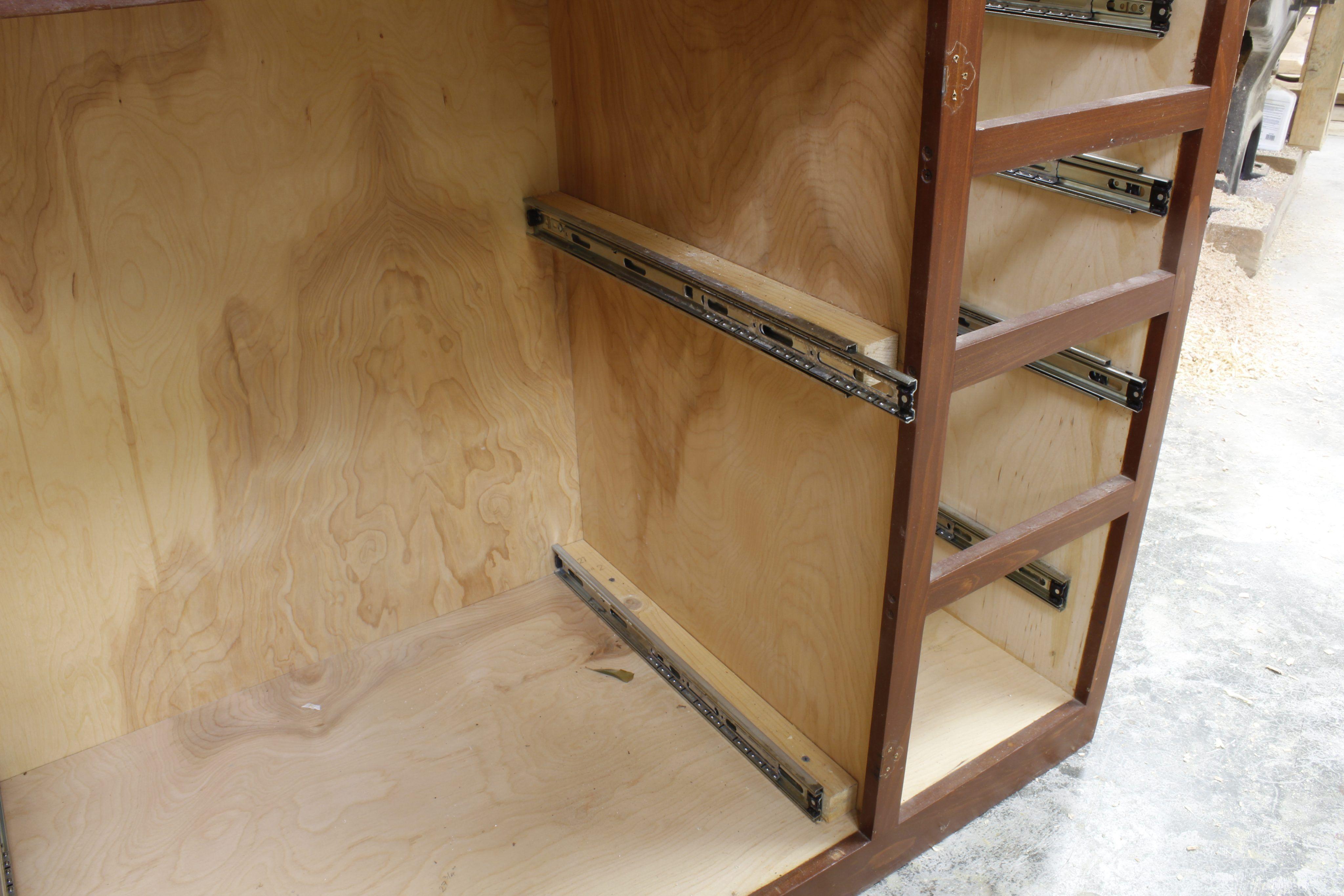 Convert a Kitchen Door Cabinet to Drawers   Kitchen doors ...