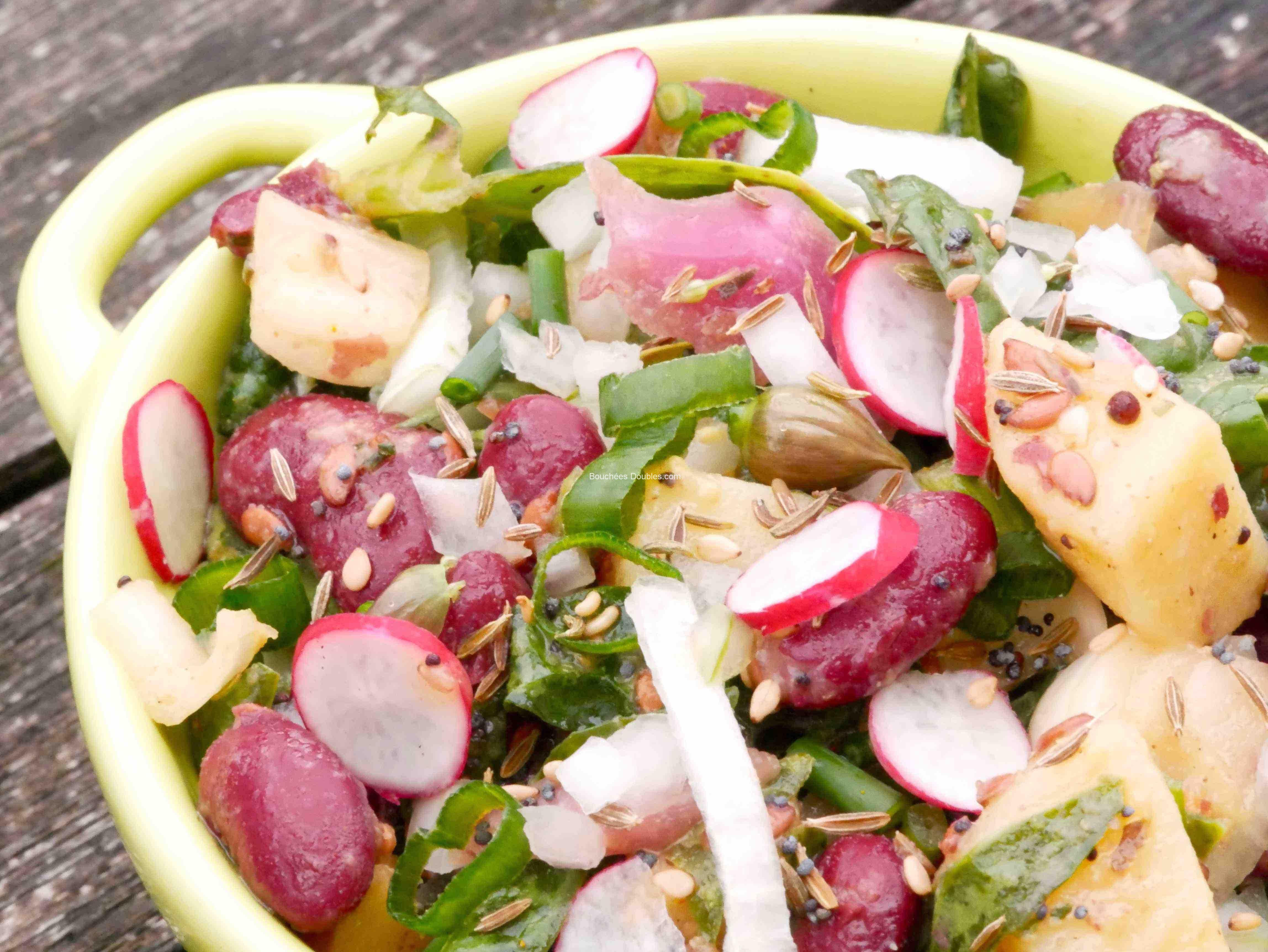 Salade Alcaline Composee Et Complete Facile Et Rapide Elle Caline