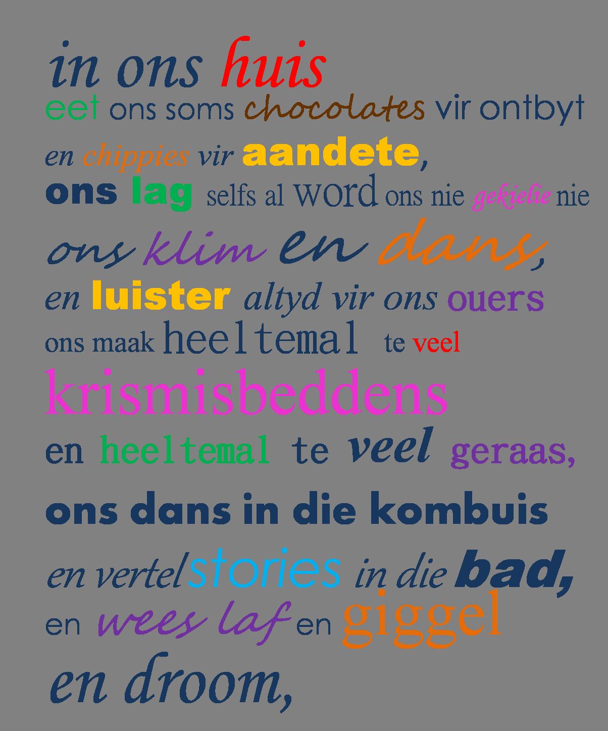 spreuken over taal Afrikaanse quotes: house rules geraam in 'n mooi ou houtraam  spreuken over taal