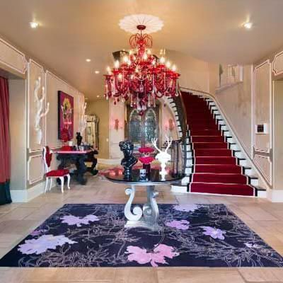 Christina Aguilera S House For Sale Interior Detail Celebrity Houses Celebrity Homes For Sale Beverly Hills Houses