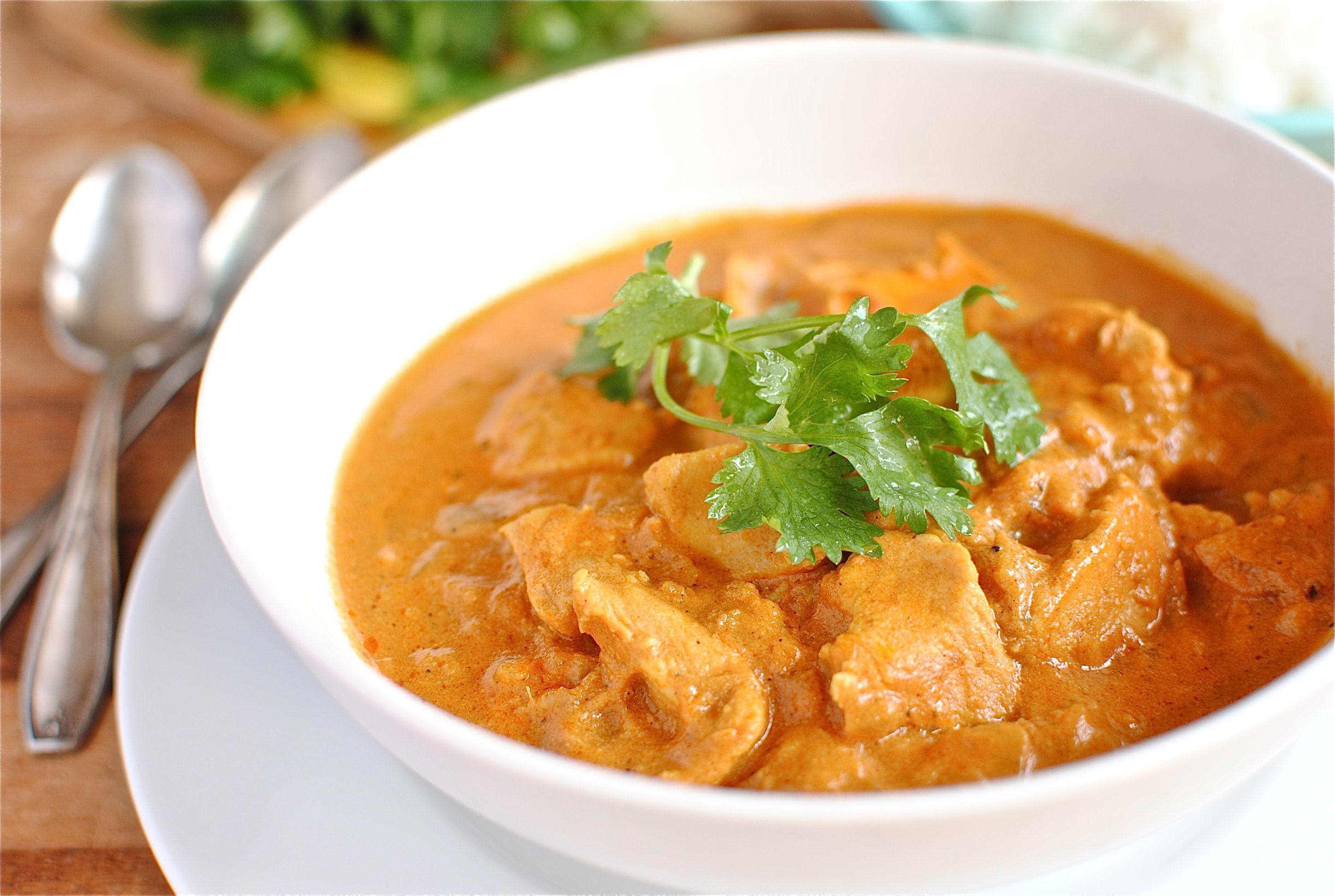 Comida india. Recetas de pollo con mantequilla, pollo tandoori ...